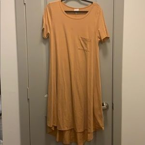 Lularoe Carly large orange